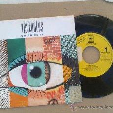 Discos de vinilo: VISITANTES/ ¿ QUIEN ES EL? 1992 DISCO PROMOCIONAL. Lote 34154992