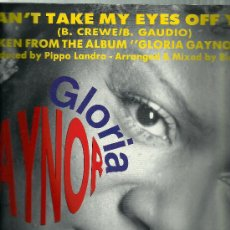 Discos de vinilo: GLORIA GAYNOR- CAN'T TAKE MY EYES OFF YOU.. Lote 34168621
