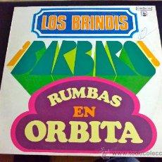 Discos de vinilo: LOS BRINDIS, RUMBAS EN ÓRBITA - LP. Lote 34170545
