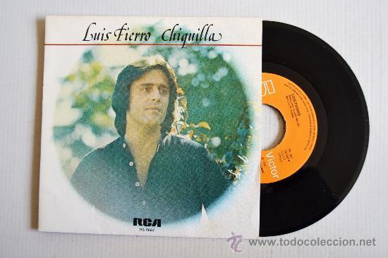 LUIS FIERRO - CHIQUILLA/MUJER ¿DONDE ESTAS? ¡¡NUEVO!! (RCA SINGLE 1978) ESPAÑA (Música - Discos - Singles Vinilo - Solistas Españoles de los 70 a la actualidad)