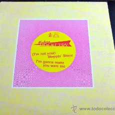 Discos de vinilo: MODERN ROCKETRY, I'M NOT YOUR STEPPIN' STONE. Lote 34172862