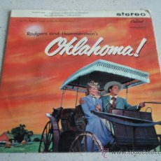 Discos de vinilo: ' OKLAHOMA! ' ( OVERTURE - OH,WHAT A BEAUTIFUL MORNIN' - ALL ER NOTHIN' - OKLAHOMA ) ENGLAND EP45. Lote 34173212