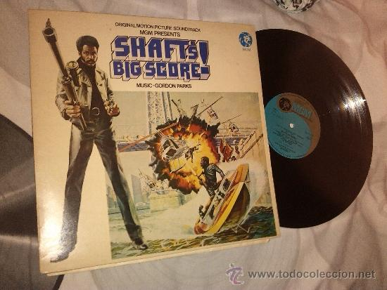 GORDON PARKS - SHAFT'S BIG SCORE! - LP 1973 !!!! RARE HARD GET !!!! (Música - Discos - LP Vinilo - Funk, Soul y Black Music)