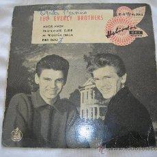 Discos de vinilo: EP THE EVERLY BROTHERS // BYE, BYE, LOVE + 3 // SU PRIMER DISCO EDITADO EN ESPAÑA. Lote 34182732