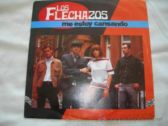 LOS FLECHAZOS // ME ESTOY CANSANDO // PROMOCIONAL (Música - Discos - Singles Vinilo - Grupos Españoles de los 90 a la actualidad)