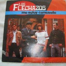 Discos de vinilo: LOS FLECHAZOS // ME ESTOY CANSANDO // PROMOCIONAL. Lote 34182852