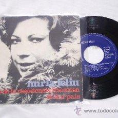 Discos de vinilo: NURIA FELIU SG CANÇO DE LA RESINTENCIA FRANCESA + 1 (1973) CANTA CATALAN. Lote 34183832