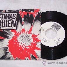 Discos de vinilo: VICTIMAS DE QUIEN 7´SG A TU LADO + 1 EDITA CDR EN 1993 EXCEL.-NUEVO. Lote 34184258