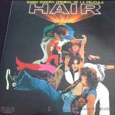 Discos de vinilo: HAIR - BANDA SONORA ORIGINAL DE LA PELÍCULA - DOBLE LP, 2 DISCOS. Lote 34185374
