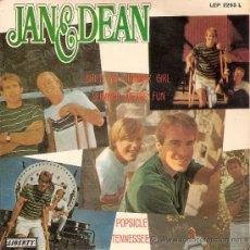 Discos de vinilo: JAN & DEAN (JAN AND DEAN) - SHE'S MY SUMMER GIRL + 3 (EP DE 4 CANCIONES) EDIC. ESPAÑOLA - EX/EX. Lote 34185488