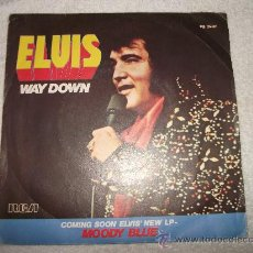 Discos de vinilo: ELVIS PRESLEY / WAY DOWN / RCA 1977 EDICCION FRANCESA. Lote 34189275