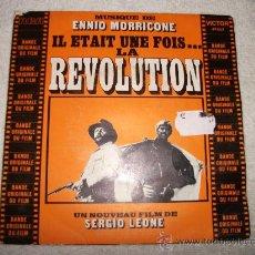 Discos de vinilo: ENNIO MORRICONE / IL ETAIT UNE FOIS LA REVOLUTION / RCA VICTOR. Lote 34189458