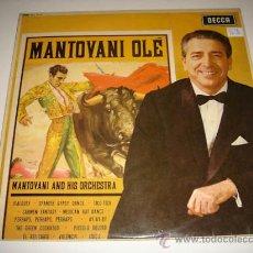 Discos de vinilo: LP MANTOVANI AND HIS ORCHESTRA. Lote 34191760