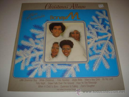 Discos de vinilo: LP Boney M Christmas Album - Foto 1 - 34193874