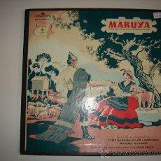 Discos de vinilo: OBRA COMPLETA EN 2 LP DE MARUXA, AMADEO VIVES Y LUIS PASCUAL FUTOS.. Lote 34194480