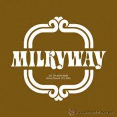Discos de vinilo: LP MILKYWAY UP,UP AND AWAY LA CASA AZUL DEMOS 93-02 VINILO LTD 500 COPIAS NUMERA. Lote 140725666