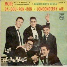 Discos de vinilo: LOS RELAMPAGOS - MORE - DA-DOU-RON-RON - RANCHO NUEVO MEXICO - EP SPAIN 1963 VG+ / VG+. Lote 34199929