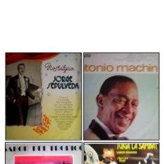 Discos de vinilo: LOTE 4 DISCOS MÚSICA VARIADA. LATINO AMÉRICA. Lote 34202484