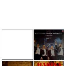Discos de vinilo: LOTE 3 DISCOS DE VINILO. ÓPERA. Lote 34202577