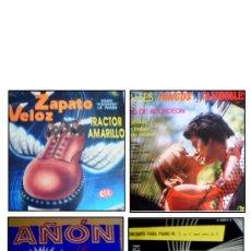 Discos de vinilo: LOTE DE 4 DISCOS DE VINILO DE MÚSICA VARIADA. Lote 34202874