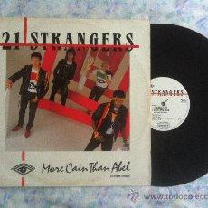 """Discos de vinilo: 12"""" MAXI-21 STRANGERS-MORE CAIN THAN ABEL. Lote 34203426"""