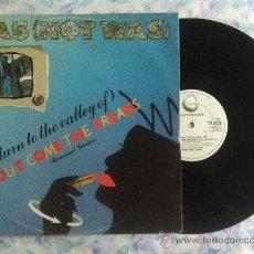 "Discos de vinilo: 12"" MAXI-WAS(NOT WAS)-OUT COME THE FREAKS. Lote 34203910"