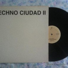 """Discos de vinilo: 12"""" MAXI-TECHNO CIUDAD II-AMOR. Lote 34203941"""