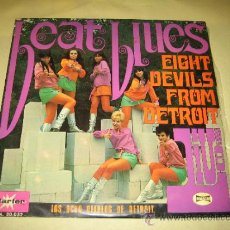 Discos de vinilo: EIGHT DEVILS FROM DETROIT - LIVE - BEAT BLUES - ED. ESPAÑOLA 1968 - BUEN INSTRUMENTAL. Lote 34207590