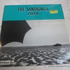"Discos de vinilo: THE SANDKINGS - RAIN 7"" - LONG BEACH 1988. Lote 34209144"