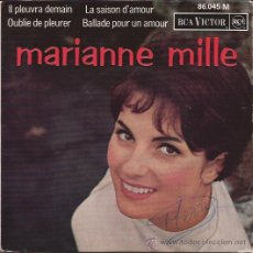 Discos de vinilo: EP-MARIANNE MILLE-RCA 86045-FRANCE-1964. Lote 34210011