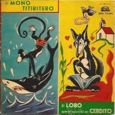 Discos de vinilo: SINGLE-CUENTOS INFANTILES-REGAL 19044-JOAQUIN SOLER SERRANO-VINILO ROJO. Lote 34210290
