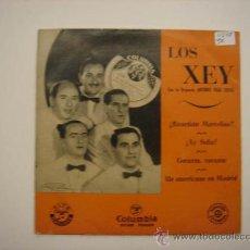 Discos de vinilo: SINGLE LOS XEY CON LA ORQUESTA ANTONIO VILÁS. Lote 34211746