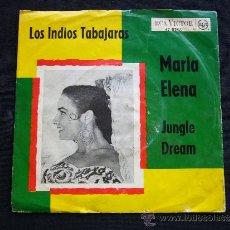 Discos de vinilo: MARIA ELENA. LOS INDIOS TABAJARAS. JUNGLE DREAM.. Lote 34213325