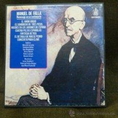 Discos de vinilo: MANUEL DE FALLA -HOMENAJE EN SU CENTENARIO-1976-3LP +FOLLETO. Lote 34214989