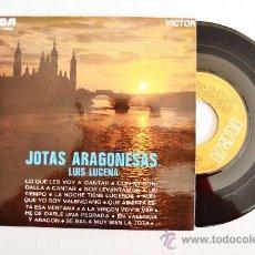 Discos de vinilo: LUIS LUCENA - JOTAS ARAGONESAS… ¡¡NUEVO!! (RCA EP 1969) ESPAÑA. Lote 34222202