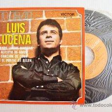 Discos de vinilo: LUIS LUCENA - CUANDO LLEGUE NAVIDAD… ¡¡NUEVO!! (RCA EP 1970) ESPAÑA. Lote 34222356