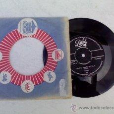 Discos de vinilo: ADAMO/ VOUS PERMETTEZ MONSIEUR/ DANS LE VERT DE SES YEUX. Lote 34232012