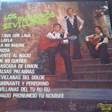 Discos de vinilo: LOS RUMBEROS SEVILLANOS, LAVA QUE LAVA - LP. Lote 34234910