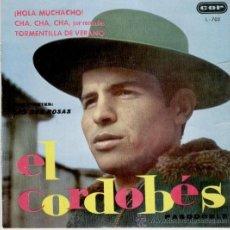 Discos de vinilo: LAS DOS ROSAS - EL CORDOBES - CHA CHA CHA POR CARACOLES + 2 - EP 1962 VG+ / EX. Lote 34234912