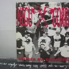 Discos de vinilo: NEGU GORRIAK - GEUREA DA GARAIPENA / BESTE KOLPE BAT - PROMO - ESAN OZENKI 1991. Lote 34235513