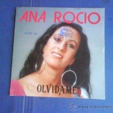 Discos de vinilo: ANA ROCIO OLVIDAMELA PROMO. Lote 34236639