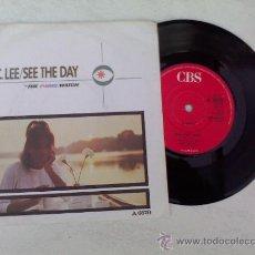 Discos de vinilo: DEE C. LEE /SEE THE DAY/ THE PARIS MATCH. Lote 34239695