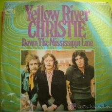 Dischi in vinile: CHRISTIE / YELLOW RIVER / DOWN THE MISSISSIPPI LINE (SINGLE 70)CBS PEPETO. Lote 34254581
