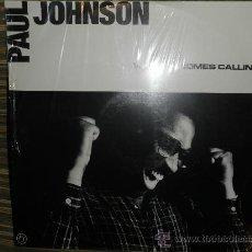 """Discos de vinilo: PAUL JOHNSON - WHEN LOVE COMES CALLING - MAXI 12"""" 1987 - EDICION LIMITADA - NUEVO AUN PRECINTADO(5) . Lote 34259531"""