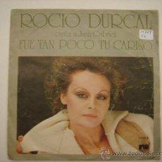 Discos de vinilo: SINGLE ROCIO DURCAL. Lote 34245117
