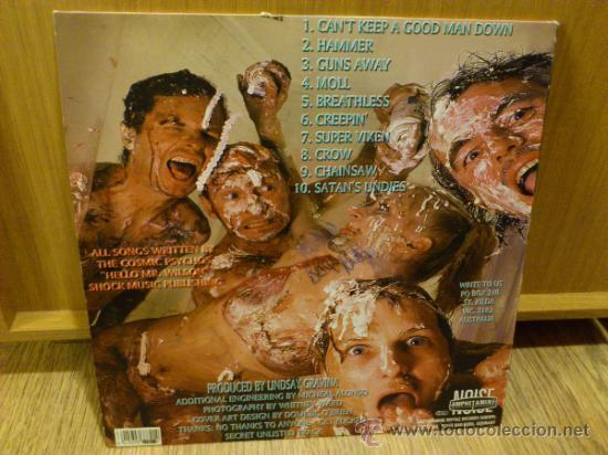 Discos de vinilo: Cosmic psychos Oh what a lovely pie lp vinilo Garage Punk Firmado - Foto 5 - 34241609