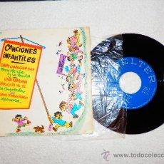 Discos de vinilo: CANCIONES INFANTILES , ED. BELTER 52.439 1973. Lote 34256119