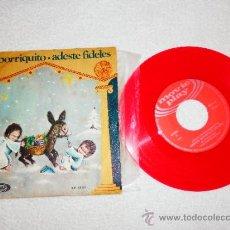 Discos de vinilo: ARRE , BORRIQUITO . ADESTE FIDELES , MOVIEPLAY MOVIE PLAY 45.002 1970 , VILLANCICOS. Lote 34256128