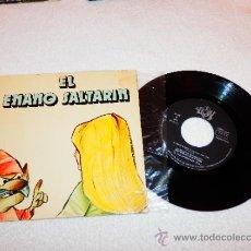 Discos de vinilo: EL ENANO SALTARÍN , ED. YUPY 1971 , CUENTO INFANTIL. Lote 34256155