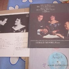 Discos de vinilo: VICTORIA DE LOS ANGELES DIETRICH FISCHER DIESKAU LP IN DUETS ORIGINAL ALEMANIA. Lote 34258756